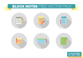 Block-Notes-Free Vector-Pack