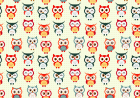 Söt Buho Seamless Patterns