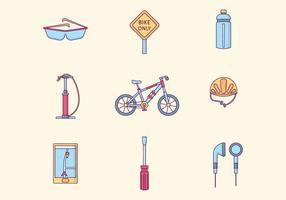 Vélo vecteur libre