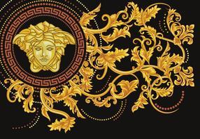 Asimétrica Vector la medusa de Versace