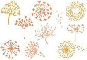 Free Dandelion Vectors
