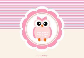 Cute Owl Hintergrund