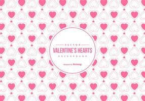 Cute Valentine's Day Background vector