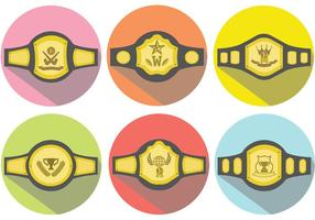Championship Belt Vector Pack