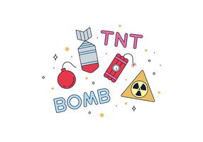 Vettore di esplosivi gratis