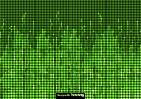 Technologic Background Vector Green Screen