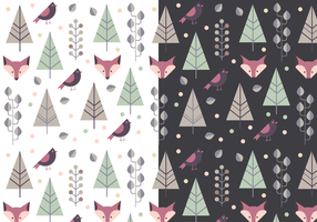 Free Animal Winter Pattern