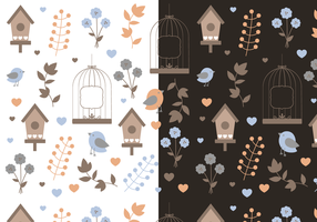 Free Spring Pattern Vector
