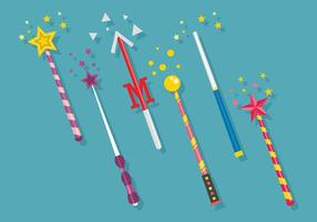 Magic Stick Vector Art
