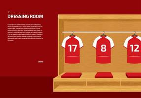 Dressing Room Sport Vector