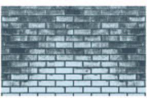 Fondo del modello di mattoni grigi