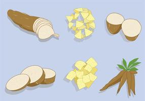 La yuca Vector Pack