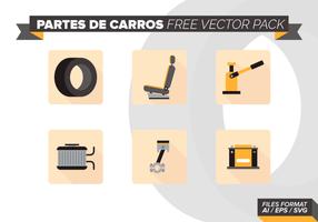 Partes De Carros Gratis Vector Pack