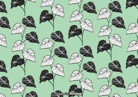 Elegant Leaves Seamless Pattern Vector