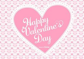 Cute Pink Valentine's Day Background