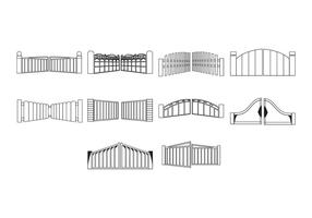 Free Gate Icon Vector
