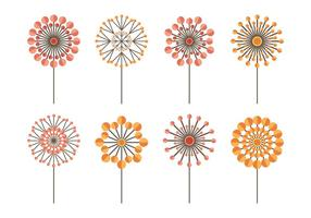 Blowball icon collectie
