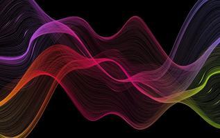 Kleurrijke Abstracte Achtergrond - Vector