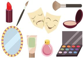 Theater Dressing Room Vectors