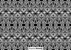 Vector Naadloos Uitstekend Patroon