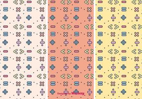 Mathematical Symbols Pattern