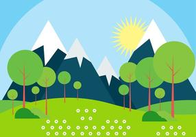 Free Vector Landscape