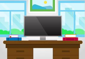 Fri Designer Desk Vector