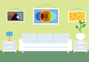 Gratis Vector Room Illustration