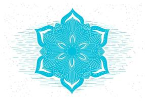 Símbolo de la flor de vectores libres