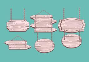 Vectores de madera de la muestra de Madeira
