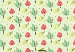 Nice Leaves Pattern Background