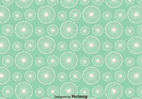 Dandelion Seamless Pattern Background