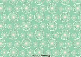 Dandelion sömlösa mönster bakgrund