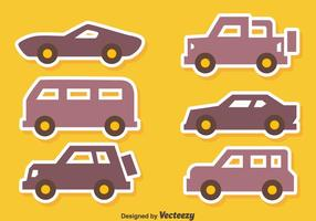 Nice Car Icons Vectors
