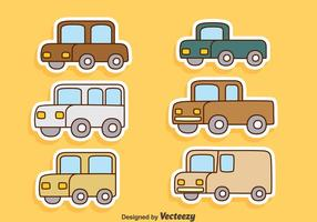 Cartoon Cars Vectors