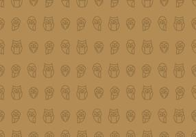 Owl Seamless Wallpaper
