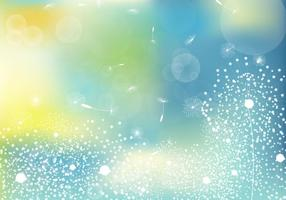 Beautiful Dandelion Vector