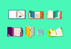 Gratis Notebooks & Planners Vector