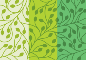 Set Leaf Background
