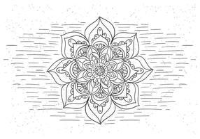 Free Vector símbolo de la flor