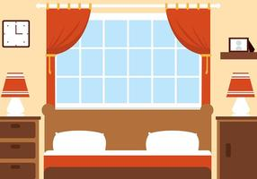 Free Vector Bedroom