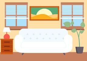 Gratis Vector Lounge Illustration