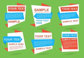 Vente Free Vector Labels