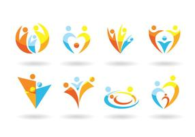 Familia del logotipo del vector