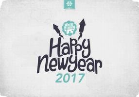 Frosty New Year Vector