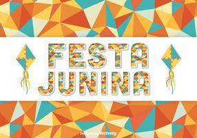 Festa Junina Vector Bakgrund