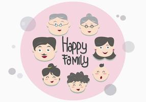 Familia Face Vectors