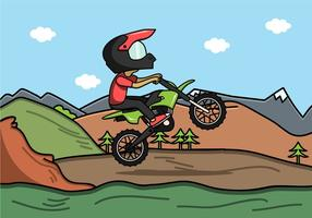 MX Rider Vector