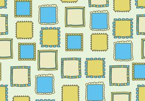 Yellow and Blue Frames vector