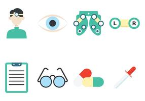 Eye Doctor Icon vector